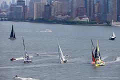 NY-VENDEE (Les Sables) | Start (imocaoceanmasters) Tags: 052016 day inside newyorkcity usa jour newyork singlehanded imoca monohull oceanmaster manhattan newyorkvendee start heli