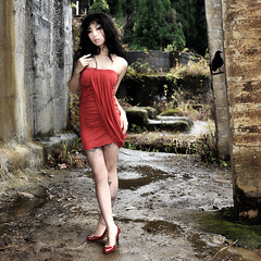 Portrait / Necoco #70 * (HarQ Photography) Tags: portrait woman japanese nikon ruin d700 afs2470g masterclasselite