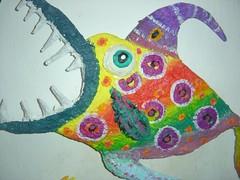 (Leu lima - Cabaças) Tags: flickr leo lima artesanato peixe jornal artes máscaras leu lagartixa dinossauro girafas papelmarche