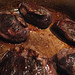 Browning pig cheeks