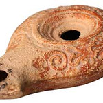 "<b>Oil Lamp</b><br/> Oil Lamp Ceramic, 100-150 BCE Origin: Balata (Site of ancient Shechem) LFAC# 627<a href=""//farm8.static.flickr.com/7008/6419589071_7fb2055ae7_o.jpg"" title=""High res"">∝</a>"