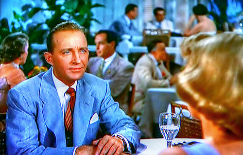movie starcrooner bing crosby has a rough time wooing ice queen rosemary clooney in - White Christmas Bing Crosby Movie