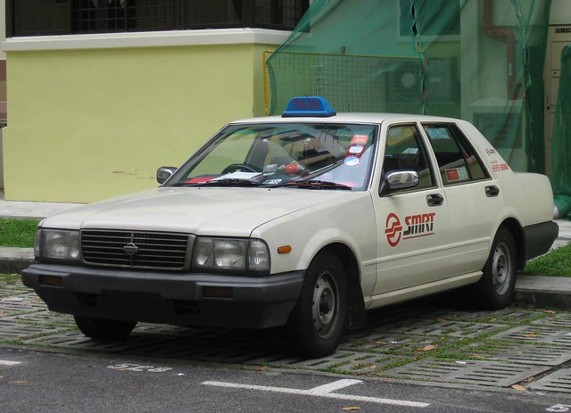 SMRT TAXIs Nissan Cedric Taxi