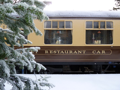 Heritage Restaurant Car used for Sky Go Movies Express photoshoot