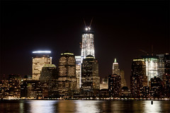 Freedom Tower 1 (Erie Limited) Tags: nyc skyline night manhattan freedomtower