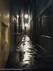 Soho alleyway (www.chriskench.photography) Tags: london reflections soho alleyway iphone londonist kenchie