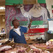 Hargeisa meat market decoration - Somaliland