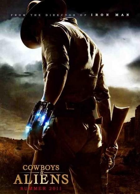 Filme Cowboys & Aliens Capa Poster 78 - Ação Bons Filmes Online