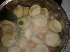 Αγκινάρες με φασόλια χάντρες - Artichokes with beans pearls