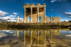 Sacred Way and Ionic stoa at Miletus,Turkey (Nejdet Duzen) Tags: city trip travel history turkey ancient bravo trkiye ruin harabe antik turkei seyahat aydn tarih milet miletus ehir saariysqualitypictures mygearandme