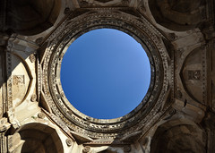 champaner (Bhaskar Dutta) Tags: world blue sky india heritage vertical stone circle site shot muslim unesco dome hindu gujarat intricate curving champaner sigma1020 gettyimagesmiddleeast