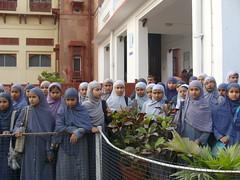 Students of Hazrat Ali Academy at Patna Museum (TwoCircles.net) Tags: education hijab parda naqab girlsstudents patnamuseum muslimgrils hazrataliacademy