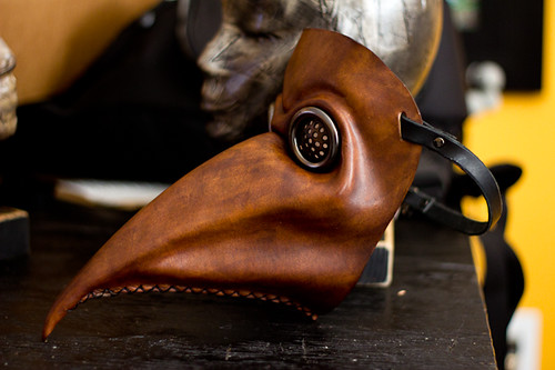 Plague Doctor Handmade Leather Mask