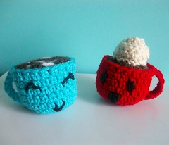 Hot cocoa (Mooy) Tags: hot cute diy handmade chocolate crochet cocoa amigurumi 12daysofchristmas