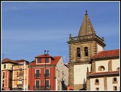 FACHADAS -Y TORRE- DEL PUERTO (GIJÓN) (Sigurd66) Tags: españa spain asturias espagne gijon xixon asturies cantabrico costaverde principadodeasturias costacantabrica puertodeportivogijon principautredesasturies