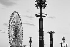 A Geometric Scene on The Planet E (LedTeppelin) Tags: street light wheel tokyo ferris sd15foveonodaiba