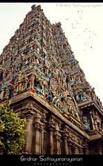 """Gopuram, Entrance of temple"" (Giridhar Sathyanarayanan) Tags: india beautiful canon rebel awesome madurai giridhar sathyanarayanan 550d t2i"