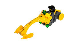The Coolbike (Cam M.) Tags: bike yellow cool lego awesome epic speeder racer coolbike moc npu