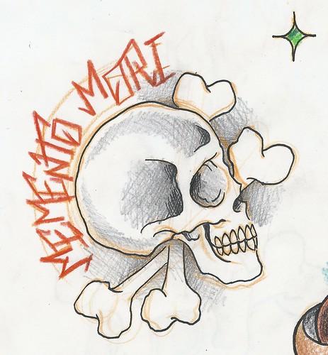 memento moriMemento Mori Skull Tattoo