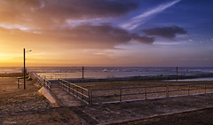 Dawn Light (The0dora Photography) Tags: sky beach clouds sunrise lights sand rocks baths merewether sigma1020 canon7d blinkagain dorcam16 bestofblinkwinners