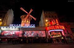 Moulin Rouge (D.M.C.M ) Tags: paris france night europe rivedroite nacht moulinrouge nuit iledefrance nocturne bam  pigalle  furansu       yoru canon60d dmcm fgu peulangseu yroppa yoroppa
