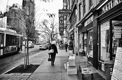 (Jonathen Adkins) Tags: new york nyc bw white black canon manhattan xsi