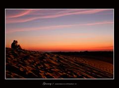 Take me to the stars (Gianmarco - G.C.) Tags: sunset sky love canon stars eos dubai tramonto desert blu dune 7d romantic duna deserto arabiangulf hatta sabbia ef70200f28isusm flickraward platinumheartaward tendabeduina gianmry1 gianmry