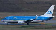 "KLM 737-700 ""Finch"" PH-BGI (neillanwarne) Tags: airport birmingham rotation boeing spotting 737 bhx elmdon runway33"