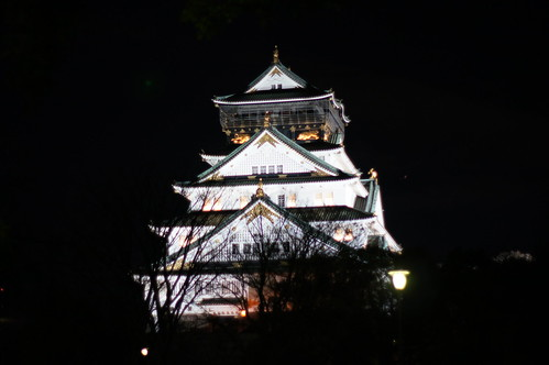 大阪城天守閣 Tower of Osaka Castle