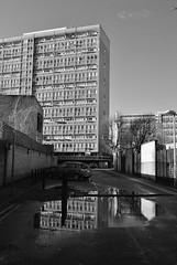 Urban Photo Mag blog: Sceaux Gardens Estate, Camberwell, SE5 (J@ck!) Tags: reflection london blackwhite towerblock modernist camberwell se5 socialhousing londonboroughofsouthwark sceauxgardensestate urbanphotomagblog