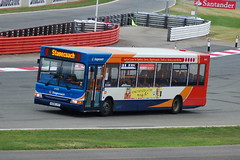 Stagecoach Dennis Dart SLF 34835.KX06JYT - Silverstone (dwb transport photos) Tags: bus silverstone alexander dennis formula1 dart stagecoach