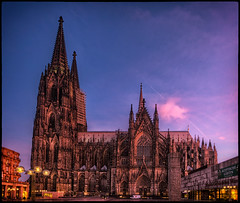 Cologne Cathedral (szeke) Tags: city urban church germany deutschland place iglesia cologne kln hdr klnerdom colognecathedral neatimage 2011 photomatix nikcolorefex canonefs1022 detailsenhancer canon7d mygearandme mygearandmepremium