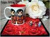 Matrioska Priscila! (**DASDE Artes!**) Tags: mug caneca matrioska mugrug tapetedecaneca