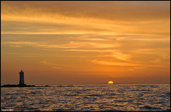 Sunset...... (calabromassimo) Tags: sardegna sunset sun landscape faro nikon tramonto mare sole vacanze sulcis calasetta calabromassimo