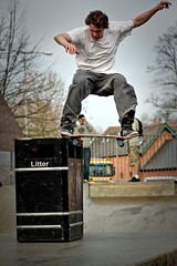 Barry Daly - Nosslide the Bin @ High Wycombe Skatepark (old_skool_paul) Tags: life new uk pink winter friends portrait holiday green sports fashion canon pose fun happy eos grey shoes quiet friendship skateboarding action chocolate buckinghamshire year extreme skating seasonal caps january hats style bank guys daily skaters fresh sneakers attitude crew adobe converse barry taylor cons chuck vans british block local uni nophotoshop sputnik adidas tamron mates bucks allstar seaons suede liability supreme 2012 hoodies daly lightroom highwycombe beanies krooked noseslide preset 60d snapback 01494