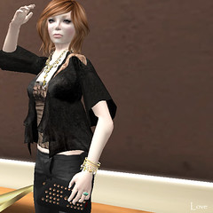 Shopping Day (lovesimondsen) Tags: secondlife exile aura nn fashionblog fashionablylate slfashion tresblah fishystrawberry centopallini lovesimondsen hluzza