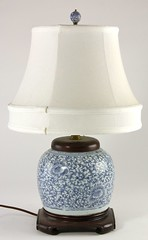 60. Fine Chinese Ginger Jar Lamp