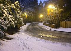 Ist snow Burnaby (jeslu) Tags: snow first finepix burnaby ist x100