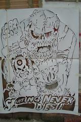 SK8 O MUERTE (Assi-one) Tags: street colors calle arte control graf bajo esqueleto skate graffitti 17 col caveira sk8 calavera pochoir rampa putas bta callejero patineta tuya skul scheletro assione cllejero scablonen teschoi