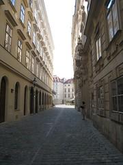 A street by Judenplatz © Gavin Plumley/ROH 2010