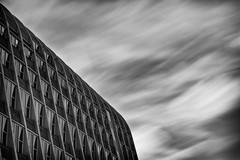220|365 (PeterChinnock) Tags: bw building silver project campus manchester photography long exposure university day toast architectural rack pro daytime 365 monochrom met metropolitan 220 fallowfield mmu hollings efex nd110 peterchinnock