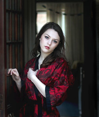red dragon (unexpectedtales) Tags: woman beautiful face fashion book women pretty tales stunning imogen weekly unexpected blurb youtube unexpectedtales imogenx