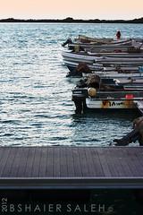 (Bshaier Saleh) Tags: blue sea sky white black island boat ship yacht ksa saleh thule                      bshaier bshaiers