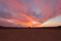(alashwaq) Tags: sunset sun set saudi  ksa withdraw      sakaka canoneos60d juof aljuof