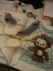 Tonight involved unpicking... #crochet cc @dtsn