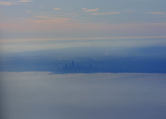 Chicago from the air (Katy Silberger) Tags: chicago lakemichigan aerialphotography nikond60 absolutelystunningscapes