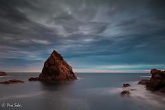 The Icon ( Pere Soler) Tags: sunset wild rock icon amanecer costabrava icono roca icona