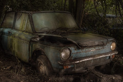 At least i still have my eyes : (andre govia.) Tags: house classic abandoned car that time decay exploring rusty andre explore forgot imp hillman ue urbex the dumped govia