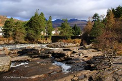 Falls of Dochart (Freespirit 1950) Tags: mountain snow mountains nature water rock river landscape scotland countryside waterfall spring highlands scenery north perthshire scenic glen hills highland burn recreation picturesque munro killin