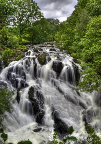 Swallow Falls - North Wales